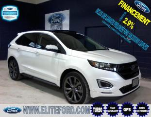 Used 2018 Ford Edge SPORT, TOIT GPS, 2.7L ÉCOBOOST,AWD for sale in St-Jérôme, QC