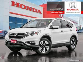 Used 2016 Honda CR-V Touring LEATHER INTERIOR | GPS NAVIGATION | HONDA SENSING TECHNOLOGIES for sale in Cambridge, ON