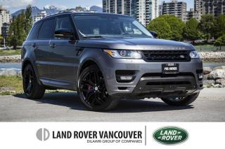 Used 2014 Land Rover Range Rover Sport V8 SC Autobiography Dynamic *Local With No Accidents! for sale in Vancouver, BC