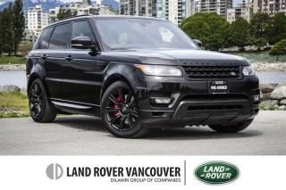 Used 2016 Land Rover Range Rover Sport V8 Supercharged Dynamic (2016.5) for sale in Vancouver, BC