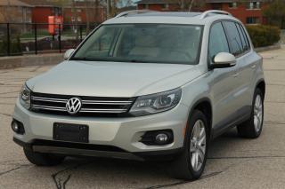 Used 2014 Volkswagen Tiguan Highline CERTIFIED for sale in Waterloo, ON