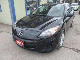 Used 2011 Mazda MAZDA3 GAS SAVING SPORT-HATCH EDITION 5 PASSENGER 2.0L - DOHC.. CD/AUX INPUT.. KEYLESS ENTRY.. for sale in Bradford, ON