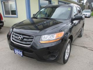 Used 2010 Hyundai Santa Fe FUEL EFFICIENT GLS MODEL 5 PASSENGER 2.4L - DOHC.. CD/AUX/USB INPUT.. BLUETOOTH SYSTEM.. KEYLESS ENTRY.. for sale in Bradford, ON