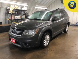 Used 2014 Dodge Journey SXT * 7 passenger * DVD player * Navigation * Sunroof * Reverse camera * Heated mirrors * Phone connect * 8.4 inch touchscreen U connect * Remote star for sale in Cambridge, ON