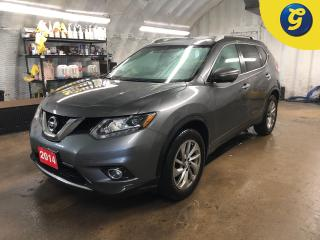 Used 2014 Nissan Rogue SL * AWD * CVT * Dual sunroof * Leather interior * Push button start * 360 Reverse camera *  Sport/Normal mode * Navigation * Nissan connect touchscre for sale in Cambridge, ON