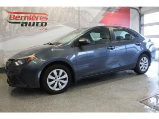 Used 2016 Toyota Corolla LE for sale in Lévis, QC