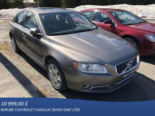 Used 2010 Volvo S80 AWD for sale in Rivière-Du-Loup, QC