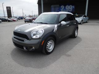 Used 2013 MINI Cooper Countryman S, Toit Pano, Bancs for sale in Mirabel, QC