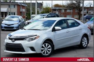 Used 2016 Toyota Corolla Le - Bluetooth - Cam for sale in St-Léonard, QC