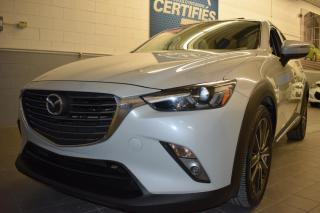 Used 2016 Mazda CX-3 GT INTÉGRALE for sale in St-Eustache, QC
