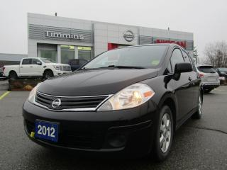 Used 2012 Nissan Versa 1.8 SL for sale in Timmins, ON