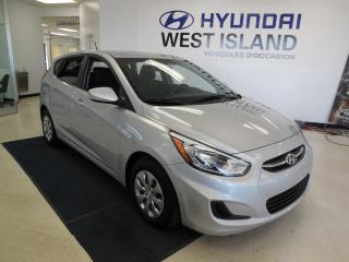 Used 2016 Hyundai Accent LE AUTO TRACTION AVANT for sale in Dorval, QC