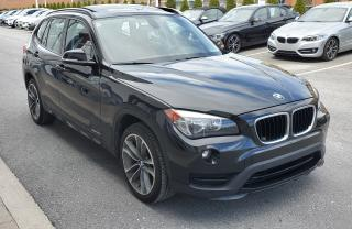 Used 2015 BMW X1 Xdrive28i Black On Red for sale in Dorval, QC
