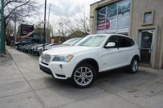Used 2011 BMW X3 5028i 4 portes à traction intégrale for sale in Laval, QC