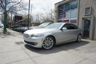 Used 2011 BMW 5 Series Traction intégrale xDrive 550i Berline 4 for sale in Laval, QC