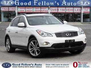 Used 2015 Infiniti QX50 PREMIUM NAVI, 3.7 LITER 6 CYL GASOLINE FUEL, AWD for sale in Toronto, ON