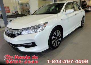 Used 2017 Honda Accord Berline Hybrid Touring Cuir Toit Navi Ma for sale in St-Jean-Sur-Richelieu, QC
