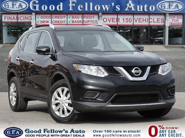 2015 Nissan Rogue S MODEL, AWD, REARVIEW CAMERA