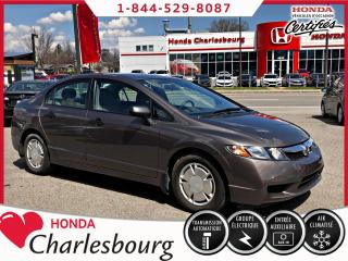 Used 2010 Honda Civic DX-G **AUTOMATIQUE**104 673 KM** for sale in Charlesbourg, QC