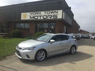 Used 2014 Lexus CT 200h Premium/SunRoof/Leather/HeatedSeats/OneOwner/NoAcc for sale in North York, ON