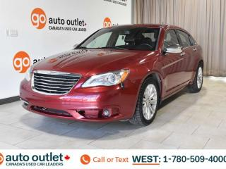 Used 2013 Chrysler 200 Limited, 3.6L V6, Fwd, Heated Seats, Sunroof for sale in Edmonton, AB