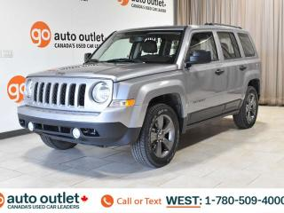Used 2017 Jeep Patriot SPORT ALTITUDE, 4WD, LEATHER SEATS, STEERING WHEEL CONTROLS, CRUISE CONTROL, A/C, HEATED FRONT SEATS, AM/FM RADIO, SATELLITE RADIO for sale in Edmonton, AB