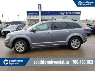 Used 2009 Dodge Journey RT/LEATHER/HEATED SEATS/BACK UP CAMERA for sale in Edmonton, AB