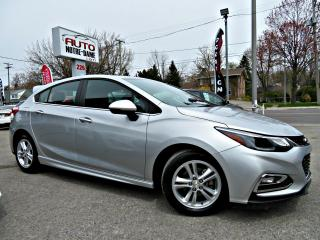 Used 2017 Chevrolet Cruze LT RS 1.4 Turbo HB -- CAM RECUL -- for sale in Repentigny, QC