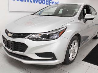 Used 2018 Chevrolet Cruze LT with heated seats and a metallic silver complexion for sale in Edmonton, AB