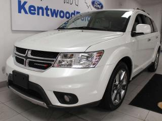 Used 2012 Dodge Journey R/T AWD, NAV, sunroof, heated power leather seats, rear DVD entertainment for sale in Edmonton, AB