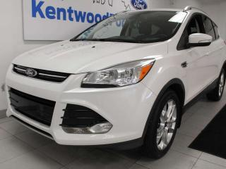Used 2014 Ford Escape TITAN 4WD, keyless entry, power liftgate, power heated seats, sunroof, push start/stop, back up camera, NAV for sale in Edmonton, AB