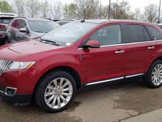 Used 2015 Lincoln MKX MKX; BLUETOOTH, BACKUP CAM, HEATED/COOLING SEATS,LEATHER,SUNROOF AND MORE for sale in Edmonton, AB