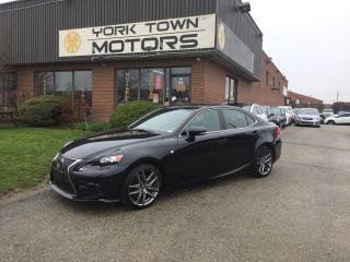 Used 2016 Lexus IS 350 F-Sport/Nav/BackCam/Sunroof/HeatedSeats/Leather for sale in North York, ON