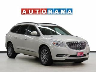 Used 2015 Buick Enclave CXL AWD LEATHER SUNROOF 8 PASSENGER BACKUP CAM for sale in Toronto, ON