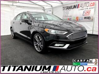 Used 2018 Ford Fusion Titanium+AWD+Camera+Sunroof+Cooled Leather Seats++ for sale in London, ON