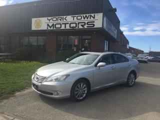 Used 2012 Lexus ES 350 PremiumPkg/SunRoof/Leather/HeatedSeats/NoAccidents for sale in North York, ON