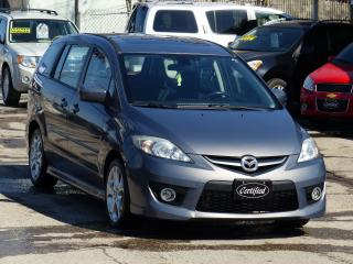 Used 2009 Mazda MAZDA5 GT, NO-ACCIDENT, ONE-OWNER,SUNROOF,ALLOYS, LOADED for sale in Mississauga, ON