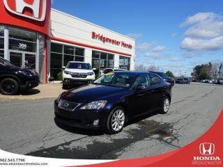 Used 2010 Lexus IS 250 Tons of Comfort, Luxury, and Utility - Sunroof! for sale in Bridgewater, NS