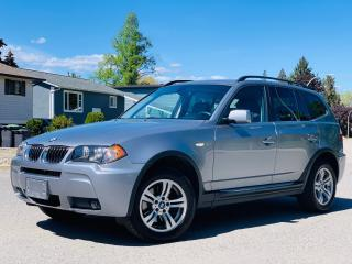 Used 2006 BMW X3 3.0i 6 SPEED MANUAL-MUST READ! for sale in Kelowna, BC