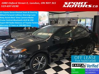 Used 2017 Toyota Corolla LE+Camera+Toyota Sense+Heated Seats & Steering+A/C for sale in London, ON