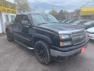 Used 2006 Chevrolet Silverado 1500 EXTENDED CAB/ AUTO/ PWR GROUP/ PWR SEAT/ ALLOYS! for sale in Scarborough, ON