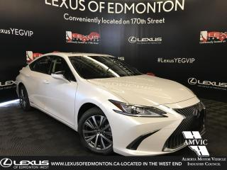 Used 2019 Lexus ES 300 h DEMO UNIT - SIGNATURE PACKAGE for sale in Edmonton, AB