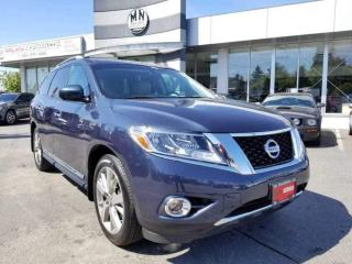 Used 2016 Nissan Pathfinder Platinum Elite 7-Passanger Navi Sunroof Only 64Km for sale in Langley, BC