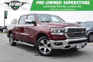 Used 2019 RAM 1500 Laramie - Huge Back Seats, UConnect/Bluetooth, Bed for sale in London, ON