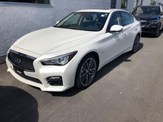 Used 2017 Infiniti Q50 3.0T AWD Blind Spot Sunroof Navi for sale in Ottawa, ON