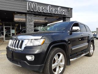 Used 2013 Jeep Grand Cherokee Overland for sale in Bracebridge, ON