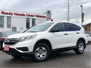 Used 2016 Honda CR-V LX - Rear Camera - Heated seats for sale in Mississauga, ON