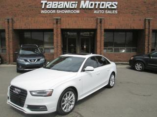 Used 2015 Audi A4 PROGRESSIVE PLUS | NAVIGATION | S-LINE | LEATHER | SUNROOF for sale in Mississauga, ON