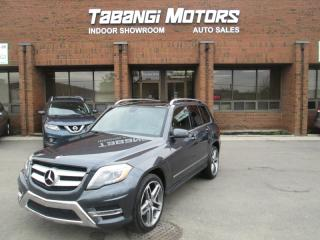 Used 2015 Mercedes-Benz GLK-Class BLUETEC | A.M.G | NAVIGATION | LEATHER | SUNROOF | REAR CAM for sale in Mississauga, ON