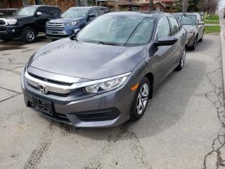 Used 2018 Honda Civic Sedan LX CVT for sale in Toronto, ON